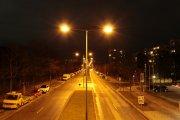 Lampy uliczne przy domu